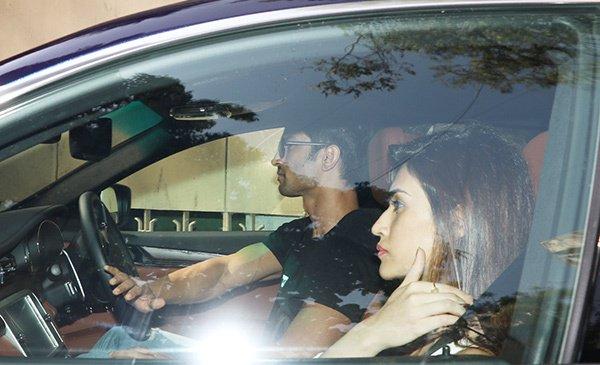 Image result for Kriti Sanon took up Sushant Singh Rajput's joyride offer