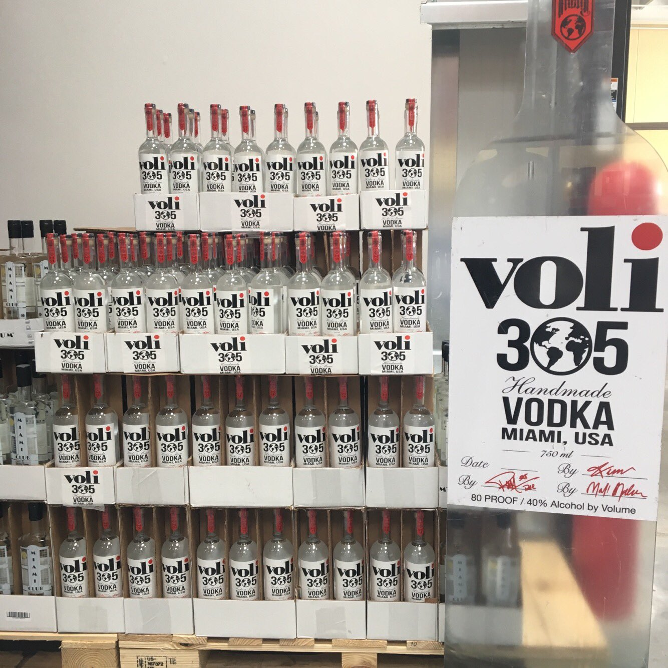 Thank you Costco for being one of the first to believe in @Voli305Vodka appreciate the opportunity. https://t.co/L0xIaKerm2