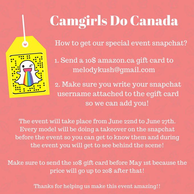We are also doing a group snap during the event! https://t.co/iKxRb0TBet