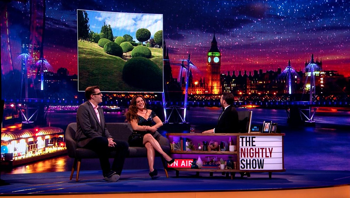 RT @ITVNightlyShow: Take a look at @IAMKELLYBROOK's Lady Garden (Her words, not ours!), a #TheNightlyShow exclusive. https://t.co/SJKsVgQhMZ