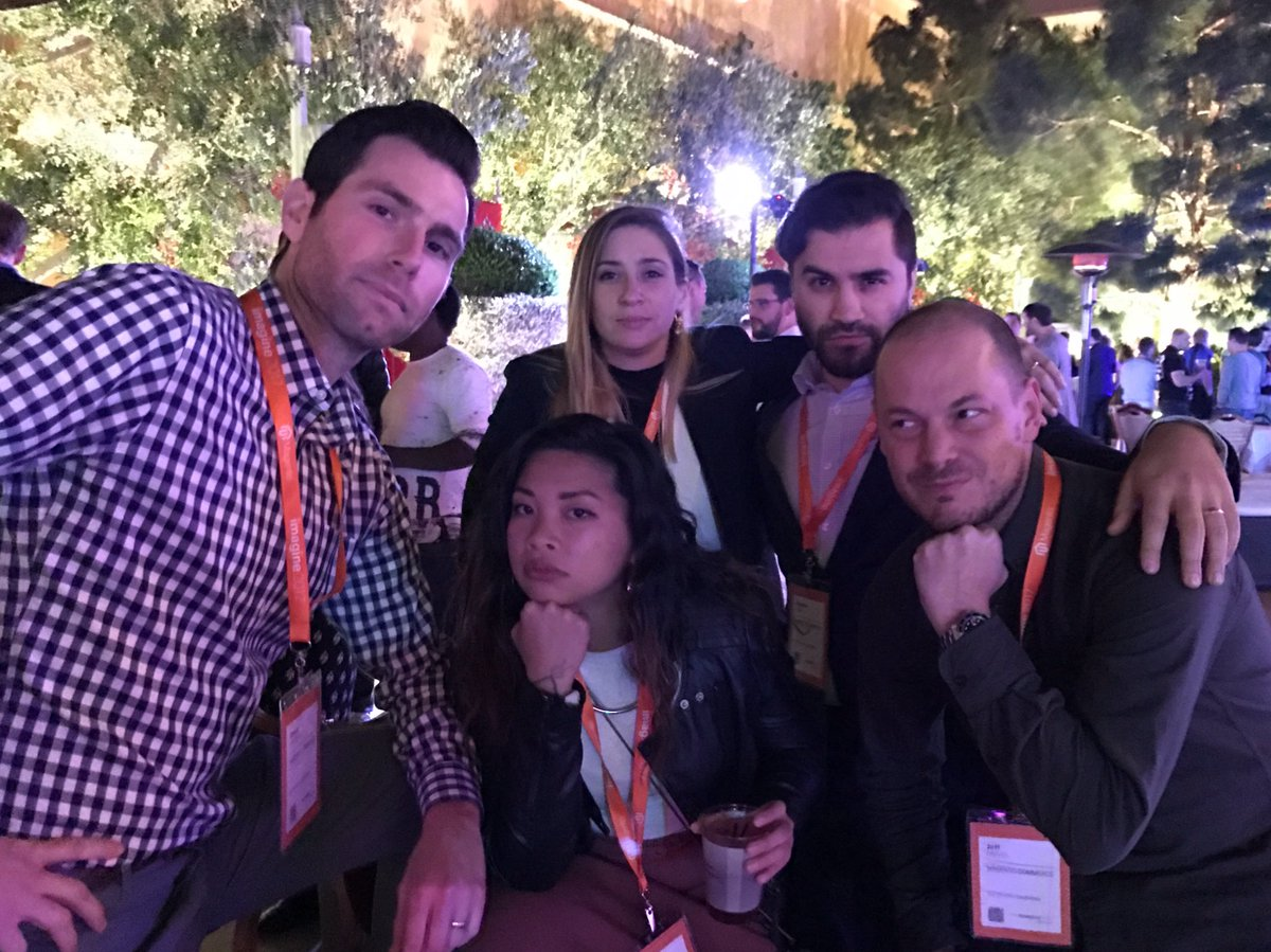 KFlogood: Between all the working and walking, a cherished #imagine2017 moment with my beloved coworkers. #Magentoimagine https://t.co/Xziq88ap98