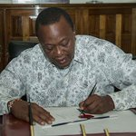 Uhuru told to exhibit values he was taught at St Mary's School