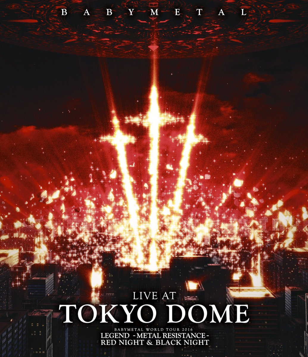 4/12(水) 「LIVE AT TOKYO DOME」発売DEATH!!#BABYMETAL #TOKYODOME https;//t.co/y1X6vpRW2W