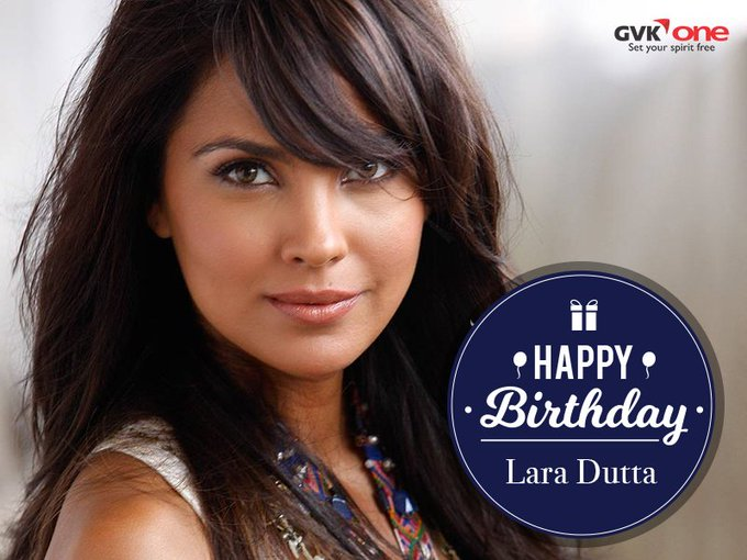 Warm wishes to a beautiful and talented woman today from Happy Birthday Lara Dutta!