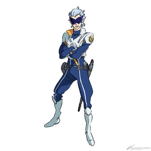 Gのレコンギスタのマスクさんですね。アイキャッチでも踊ってますし(笑)