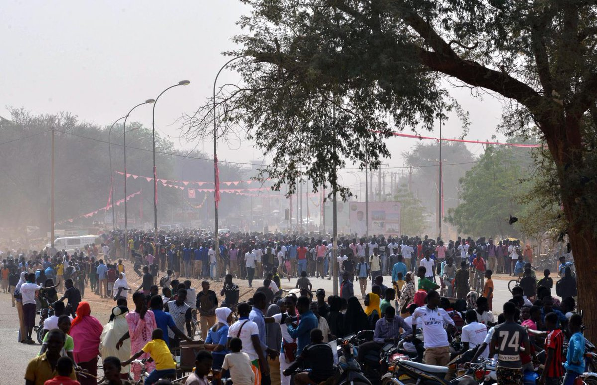 Niger university closes following a protester's death