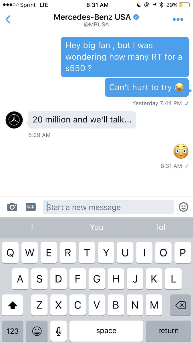 RT @BlaccieAintShit: Idgaf about nothin y'all better help me get this s550 😂 naw but I'm serious RT! https://t.co/KlhradZeKZ