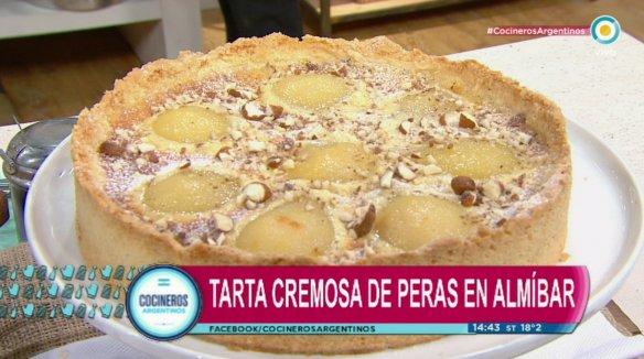 Una delicia, torta arenada de crema de peras, ahora en #CocinerosArgentinos https://t.co/6P3fIH3SHO