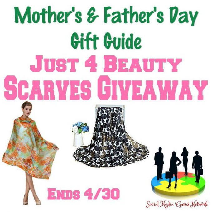 Just 4 Beauty Scarves Giveaway