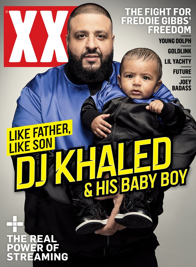 #CoverAlert �� @djkhaled and his son Asahd cover XXL Magazine's spring 2017 issue https://t.co/u9Kqj5rc9e https://t.co/XfH0I0Qr5U