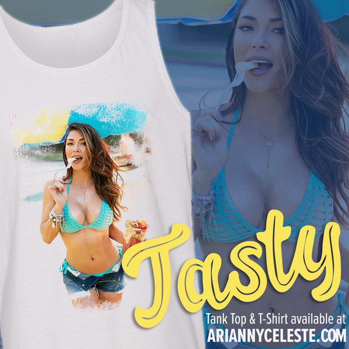 My new 'Tasty' t shirt and tanks available on my site! https://t.co/qz66ViU4dL Link in Bio! https://t
