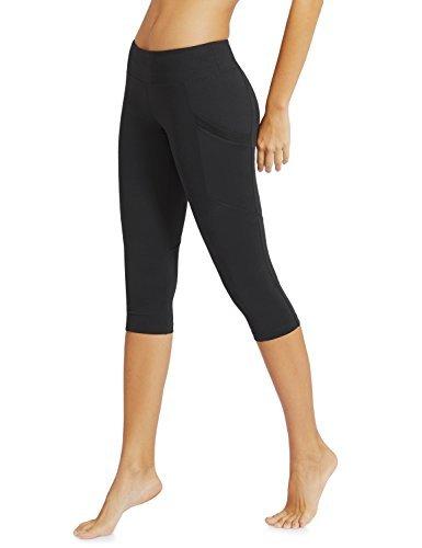 "#fashion #free #style #win #giveaway Baleaf Women's Yoga Workout Capris Leggings Side Pocket for 5.5"" Mobile Phone Black S #rt"