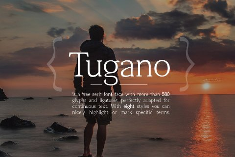 Tugano Serif Free Demo Freebies FreeResources FreeDownload