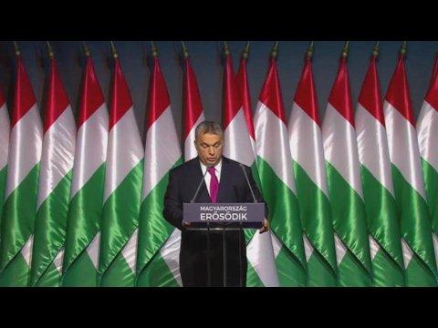 VIDEO -  Orban cracks down on Soros-backed university and NGOs