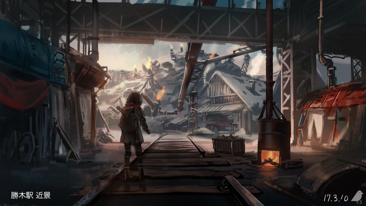 進撃の巨人二期で大人気のWIT STUDIOさんと DMMゲームズがコラボ開発中のゲーム「甲鉄城のカバネリ」、2018年