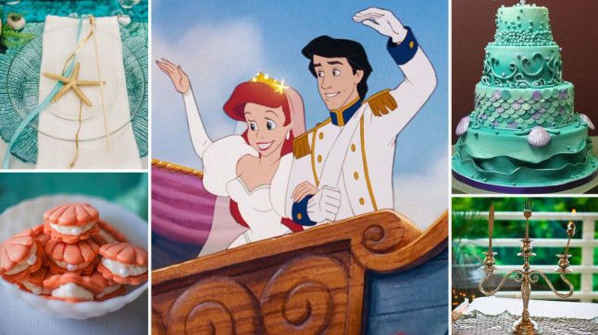 Wedding inspiration: How to throw the ultimate Disney's Little Mermaid