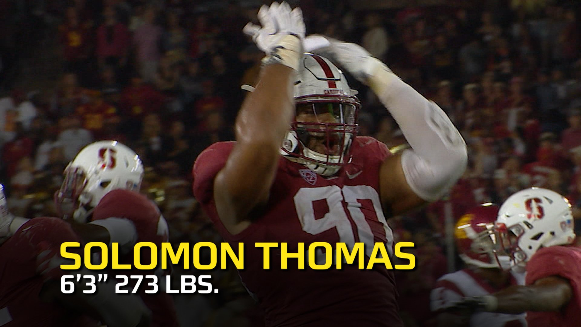 Turn the volume ⬆️ and enjoy the best highlights of @SollyThomas90 🔥  🎥 @Pac12Network https://t.co/T4yzcAE357