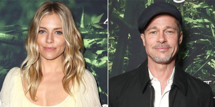 Sienna Miller dismisses Brad Pitt romance rumors as 'silly'