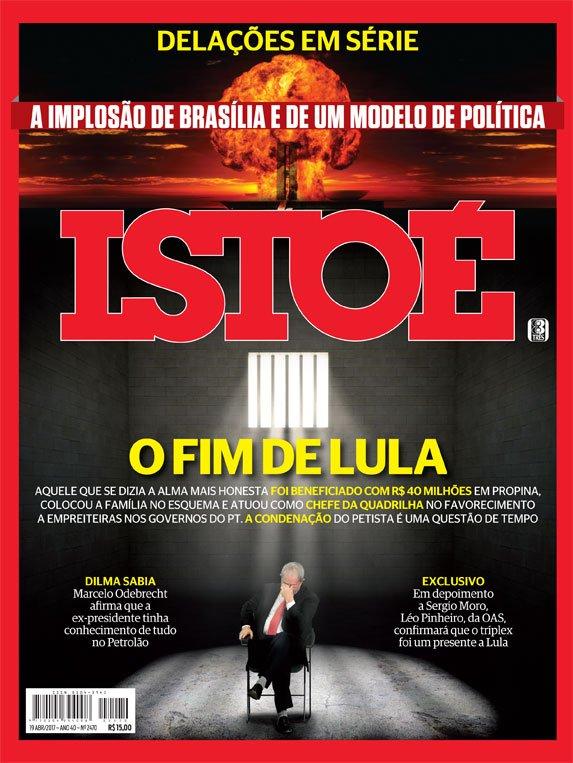 Na ISTOÉ desta semana, os R$ 40 milhões em propina para Lula e sua condenação cada vez mais próxima. Leia em https://t.co/oTRz8VHlE4