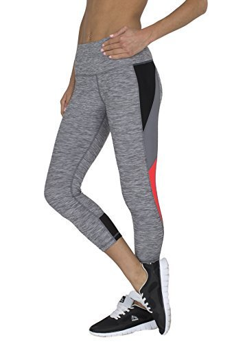 #fashion #free #style #win #giveaway RBX Active Women's Striated Color Block Printed Capri Leggings #rt