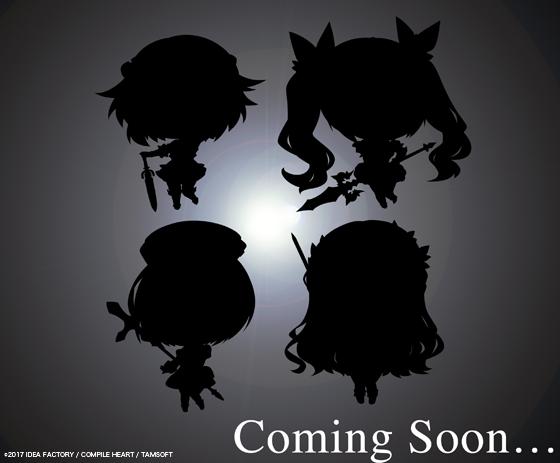 【緊急告知】4/30開催「character1」にて「四女神オンライン」ちびキャラPOPチェーンが発売決定! 新規イラス