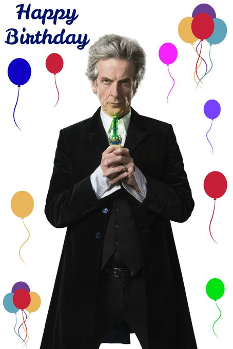 Happy 59th Birthday To Peter Capaldi, The Twelfth Doctor