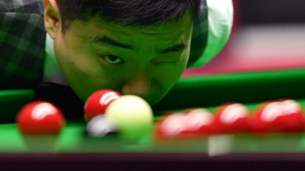 'Flagbearer' Ding bids to deliver Asia historic title