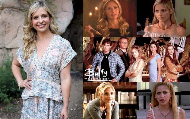 Hoy cumple 40 años Sarah Michelle Gellar (Buffy Summers en Happy Birthday