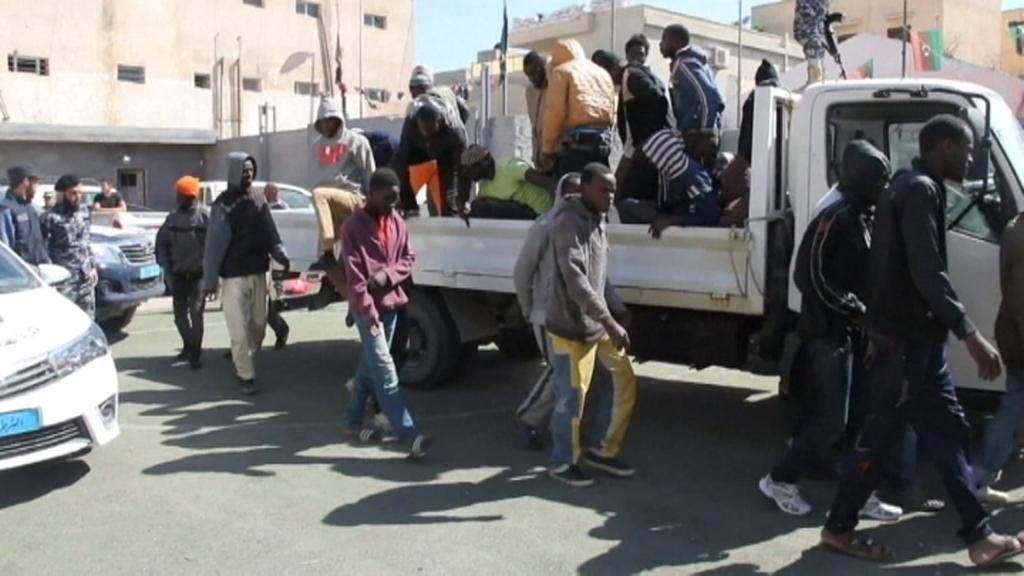 ACROSS AFRICA - Migrants targeted in Libya slave trade, UN reports