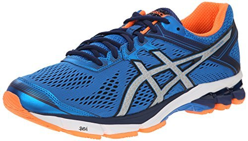 #fashion #shoes #running #free #style #giveaway #win ASICS Men's GT 1000 4 Running Shoe, Electric Blue/Silver/Flash Orange, 10.5 M US #rt