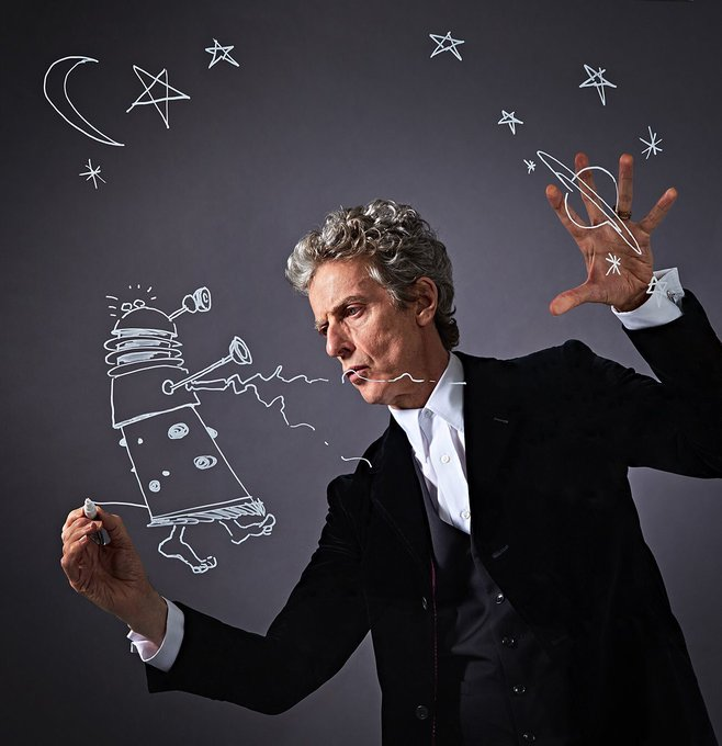 Happy birthday to one of my all time favourites and Who legend, Peter Capaldi