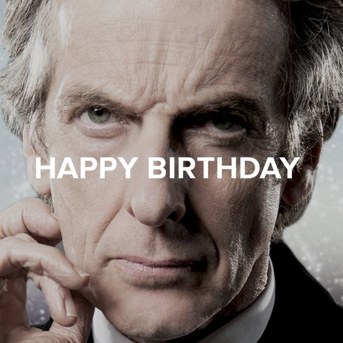 HAPPY BIRTHDAY TO PETER CAPALDI! THE MOST AMAZING, WONDERFUL, BEAUTIFUL, TALENTED AND BRILLIANT DUDE I KNOW OF!