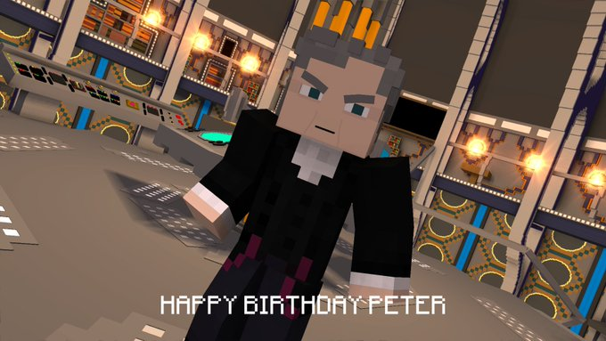 Happy Birthday to the Doctor, Peter Capaldi