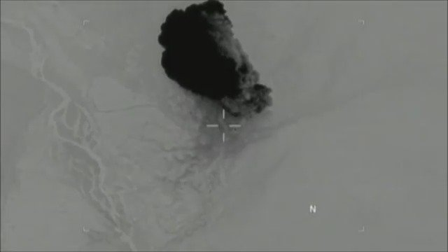 Defense Department releases video of MOAB strike in Afghanistan that killed 36 ISIS militants https://t.co/YHIFIHBfwM
