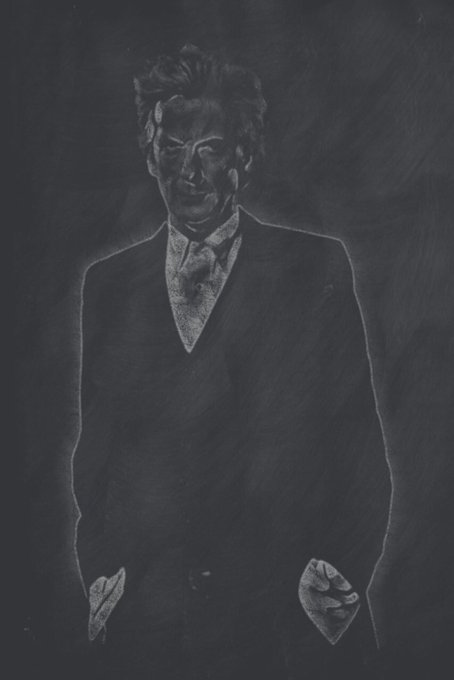 Happy Birthday Peter Capaldi! Chalkboard King!