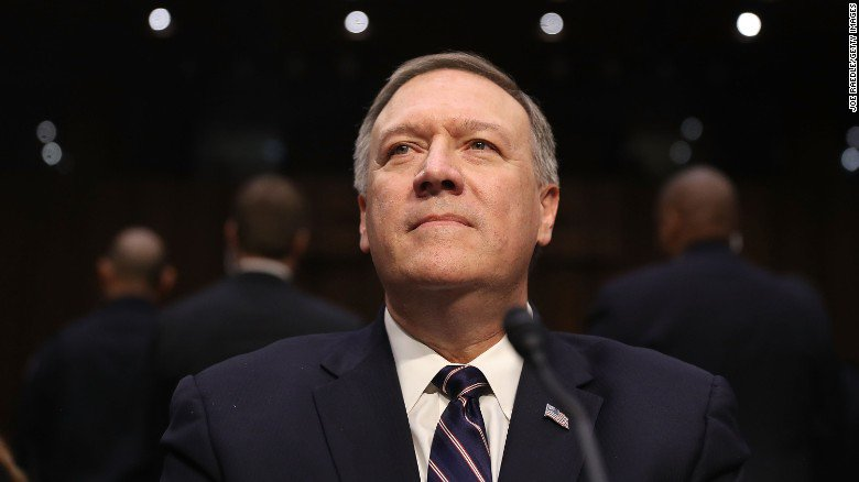 """CIA director Mike Pompeo says WikiLeaks is a """"hostile intelligence"""