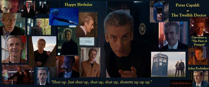 4-14 Happy birthday to Peter Capaldi.