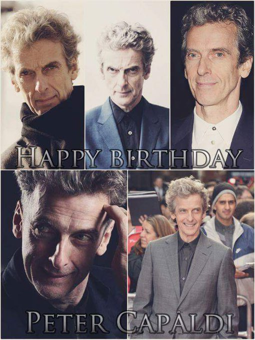 Happy birthday Peter capaldi