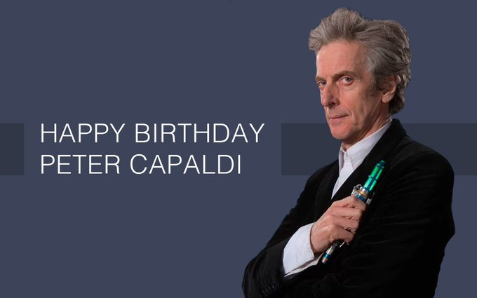 Happy birthday to the Twelfth Doctor himself, Peter Capaldi, from everyone at The Gallifrey Times!