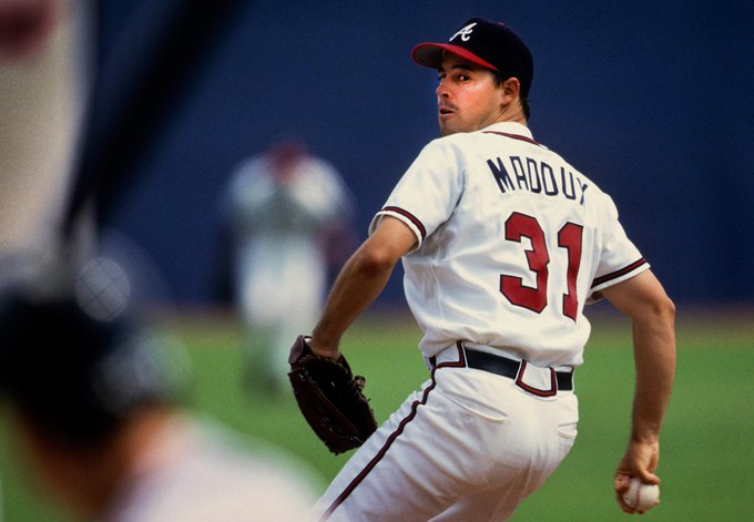 Happy birthday to Hall of Fame pitcher Greg Maddux!