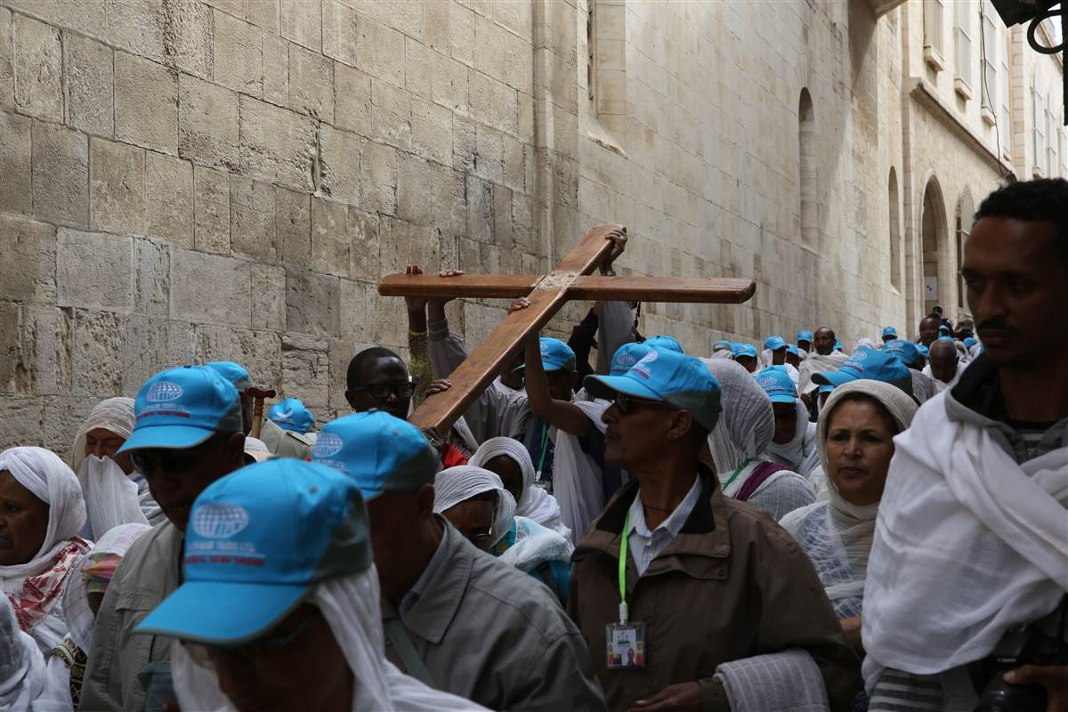 Pilgrims following in Jesus' footsteps could be taking the wrong path