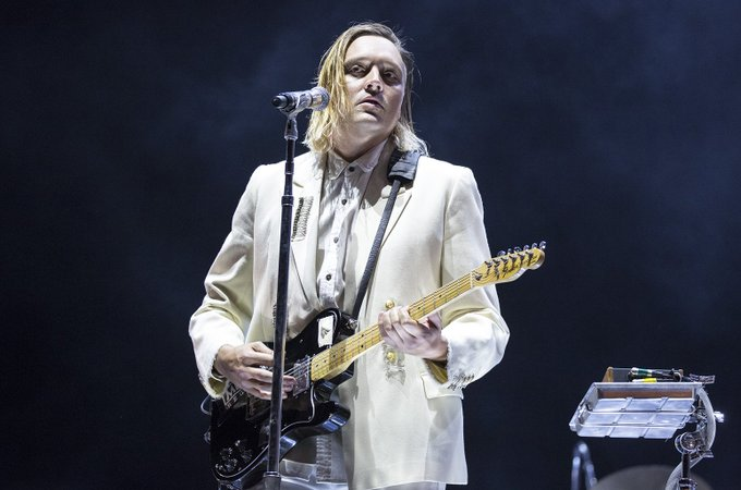 Happy 37th birthday to Win Butler of Arcade Fire!