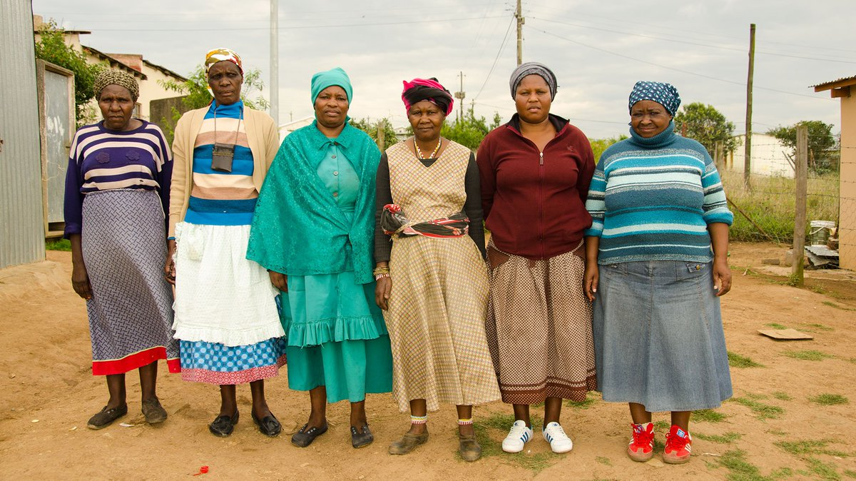 The grandmothers becoming parents twice in South Africa