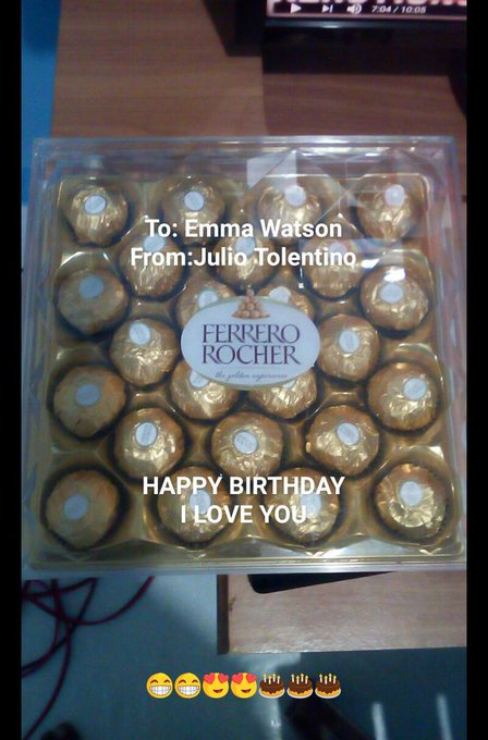 HAPPY HAPPY BIRTHDAY EMMA WATSON