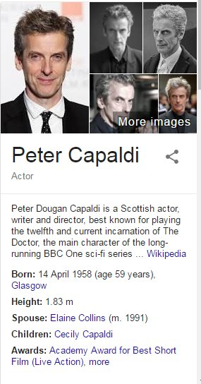 Happy Birthday, Peter Capaldi!