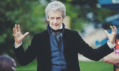 Oh my god happy birthday to the sweetest man possible Peter Capaldi