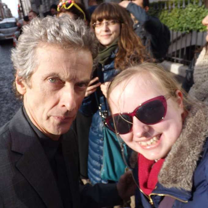 Happy Birthday to my favourite actor and Doctor, Mr Peter Capaldi