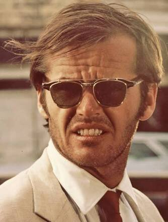 Happy Birthday to Jack Nicholson! Pictured here filming for his 1969 role in Easy Rider