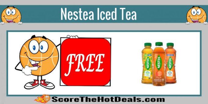 **FREE** Bottle Of Nestea Iced Tea!free freebies freebie nestea coupondeals