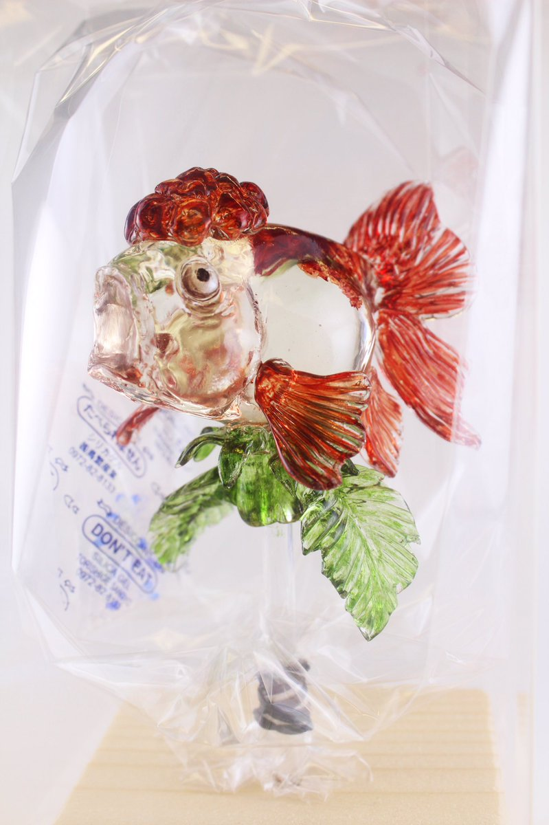 特別にお作りした「金魚草」の飴細工も展示されている、『鬼灯の冷徹 ミニ原画展 in BOOKMARK浅草橋』は本日からで